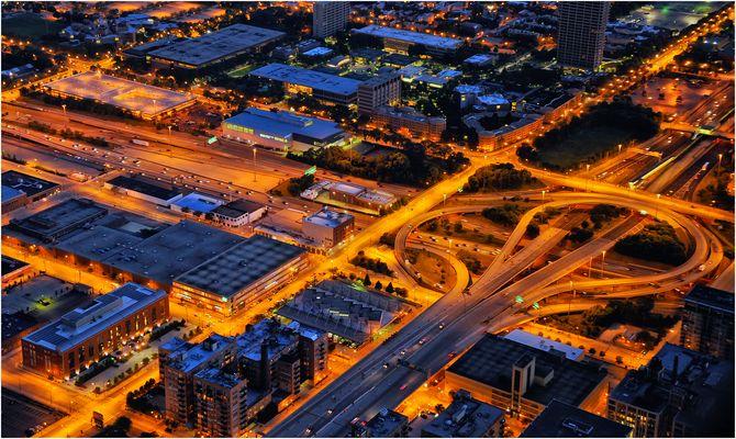 Blaue Stunde Chicago