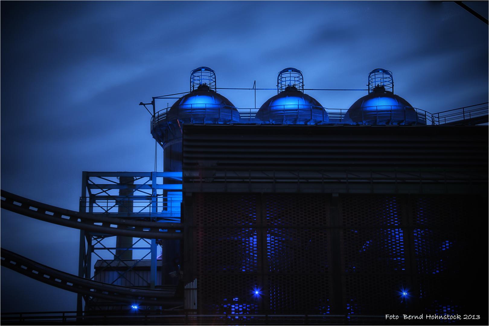 blaue Stunde im LaPaDu .....