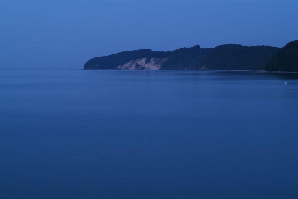 Blaue Stunde in Binz