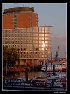 Blaue Stunde in der Hafen City