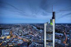 Blaue Stunde in Frankfurt/Main