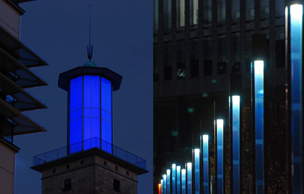 Blaue Stunde in Hagen