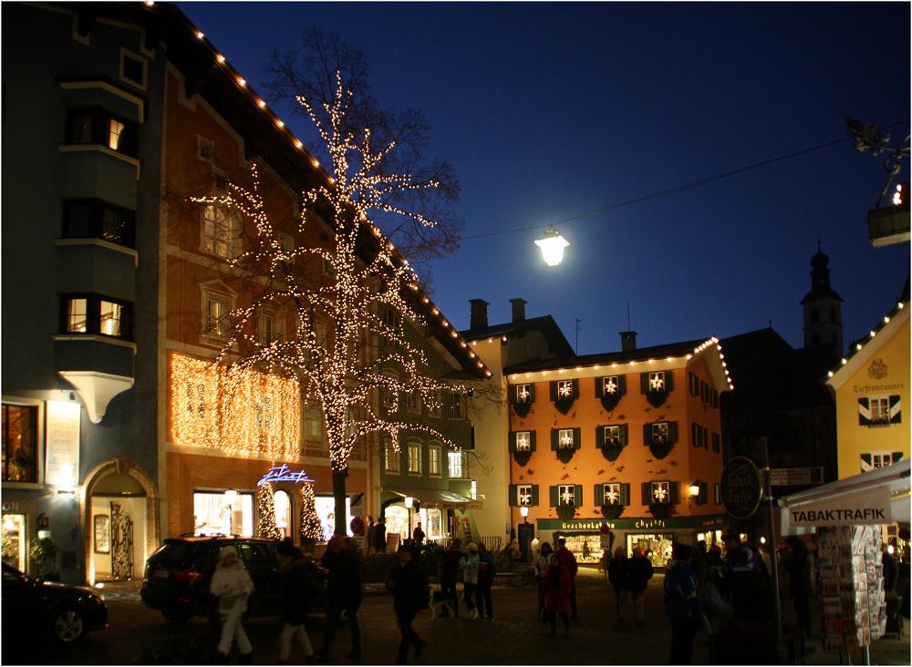 Blaue Stunde in Kitzbühel