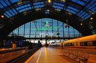 Blaue Stunde in Köln HBF