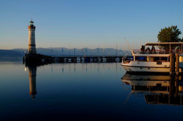 Blaue Stunde in Lindau