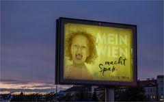 Blaue Stunde in Meidling