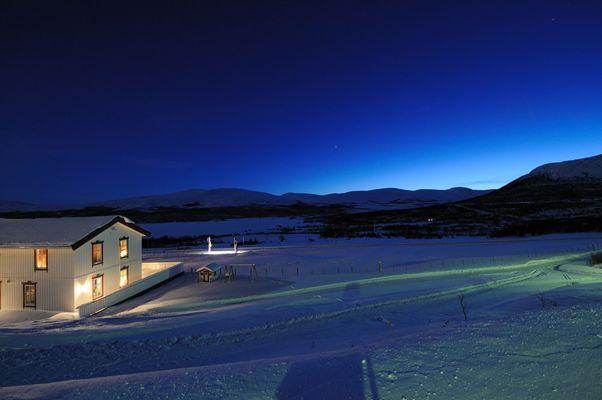 blaue Stunde in Norwegen