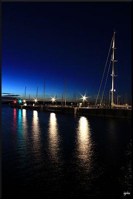 Blaue Stunde in Sonwik