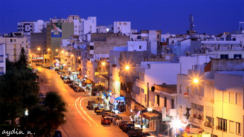 Blaue Stunde in Sousee