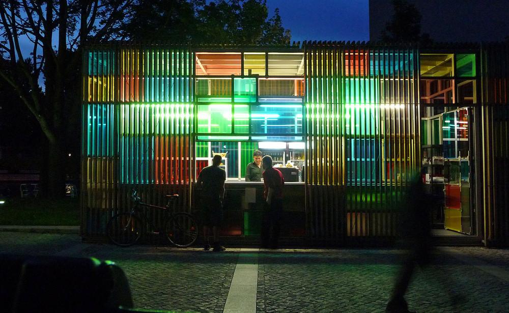 Blaue Stunde in Tiergarten