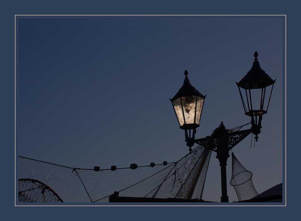 Blaue Stunde in Werder