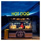 blaue Stunde Olympiapark *** HOT DOG ***