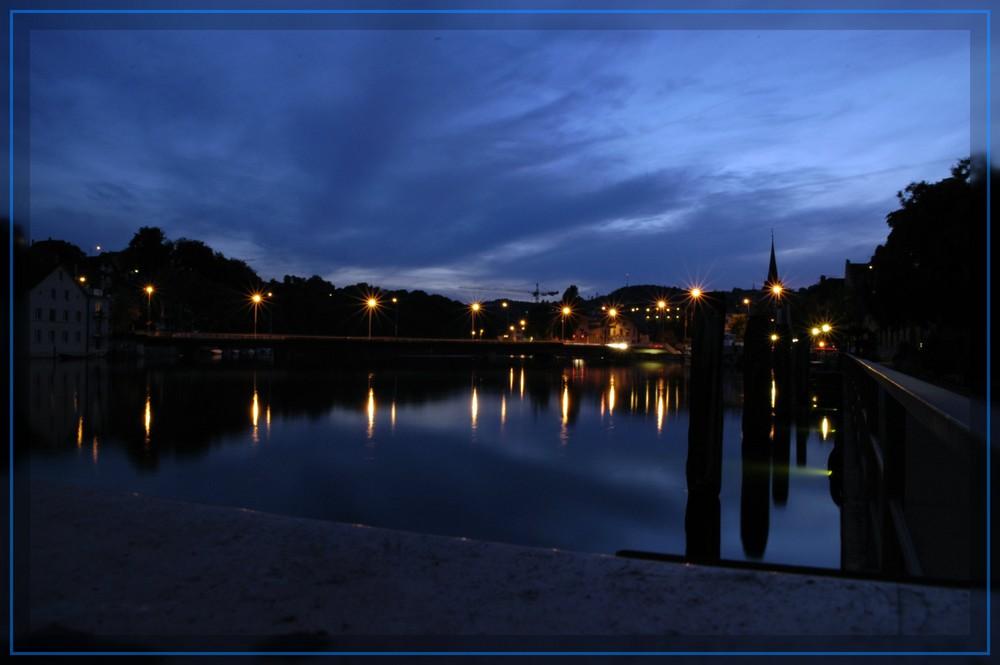 Blaue Stunde Schaffhausen am Rhein