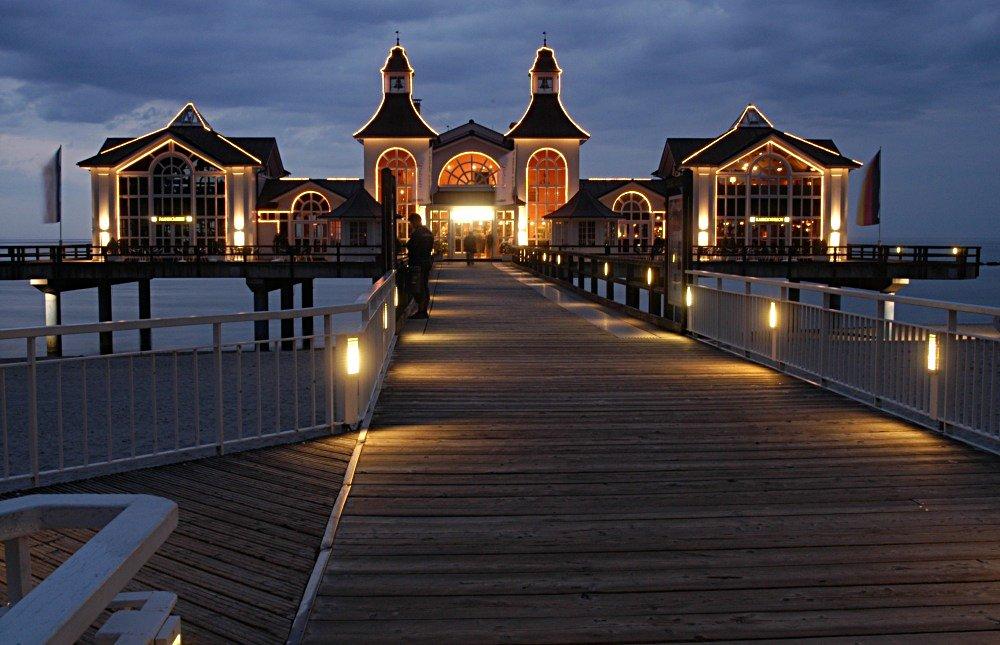 Blaue Stunde (Seebrücke Sellin)