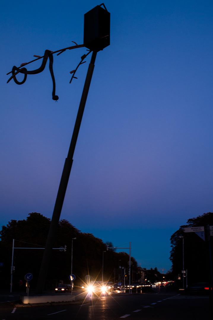 blaue Stunde Sternkreuzung