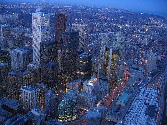 Blaue Stunde: Toronto