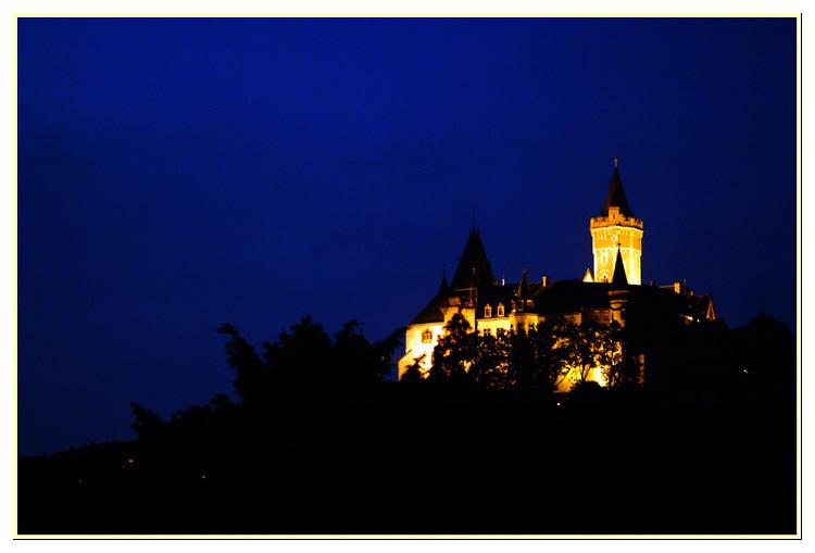 Blaue Stunde über Schloss Wernigerode