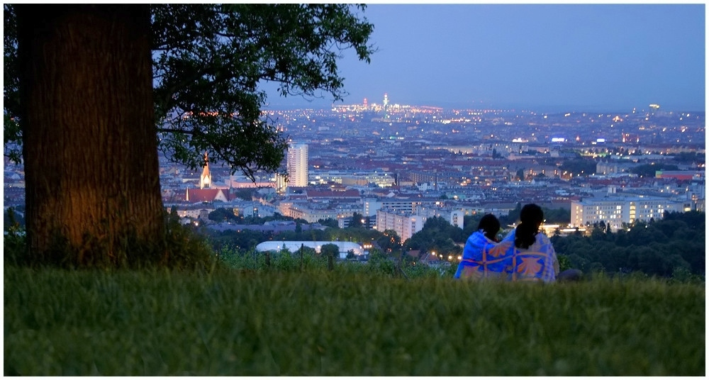 Blaue Stunde, Wien