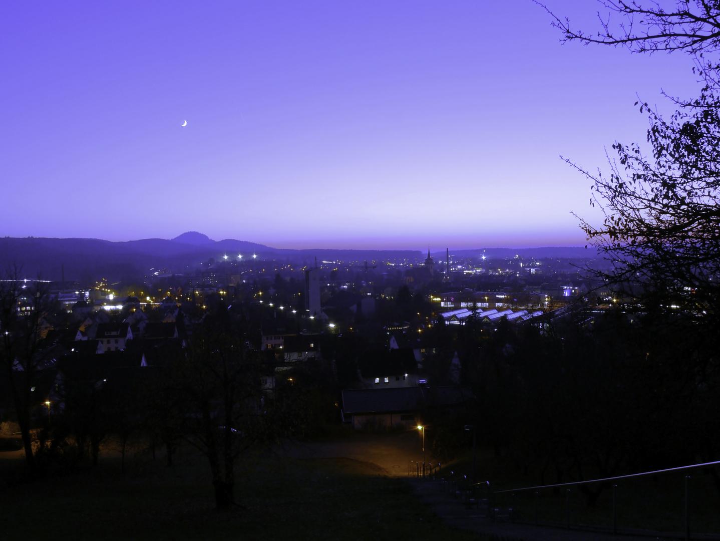 Blaue Stunde zu Metzingen