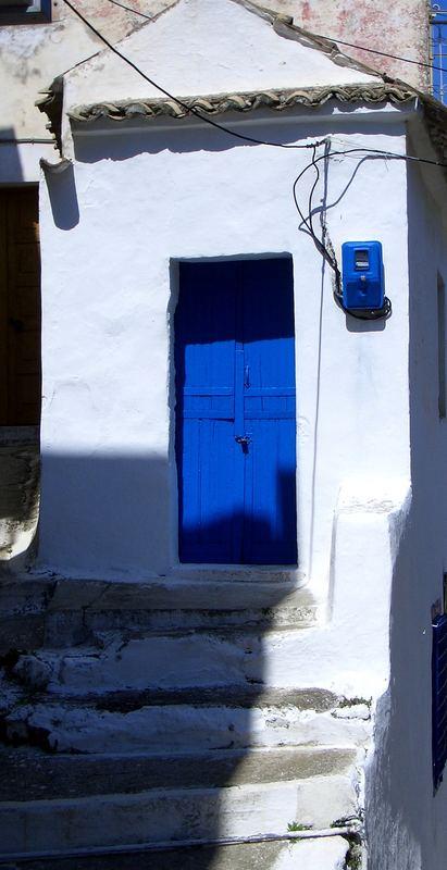 Blaue Tür
