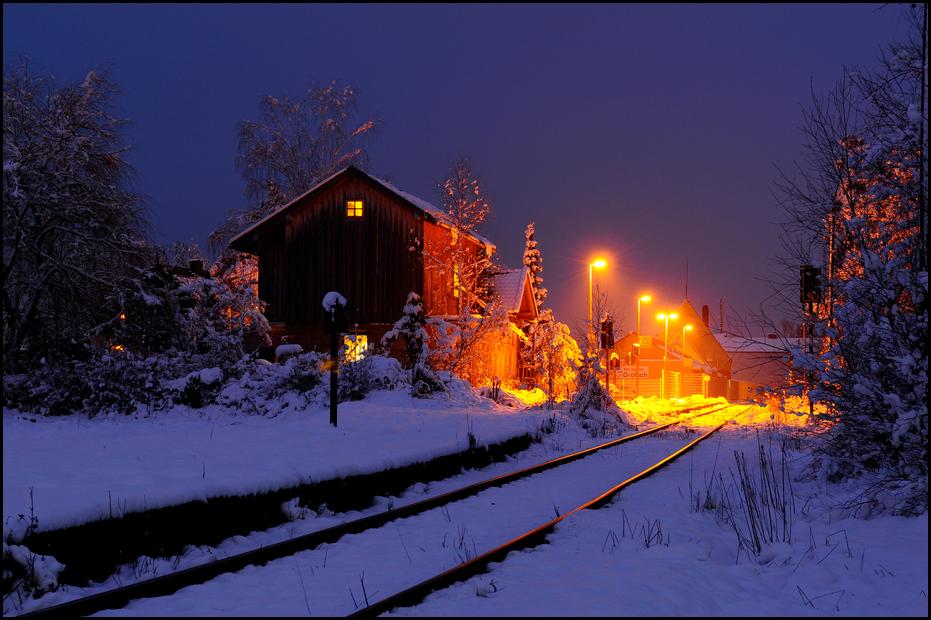 Blauer Bahnhof