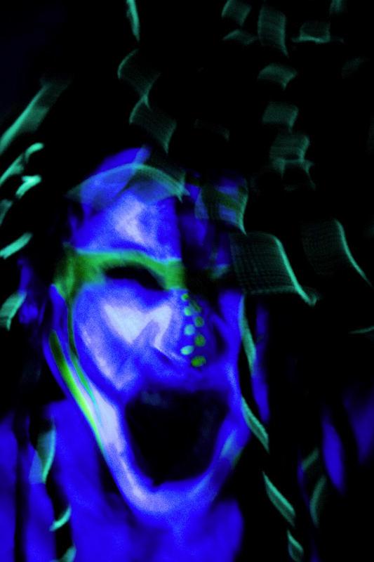 blauer dämon