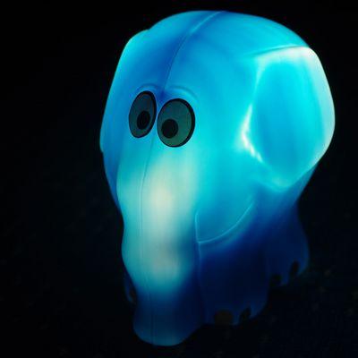 Blauer Elefant