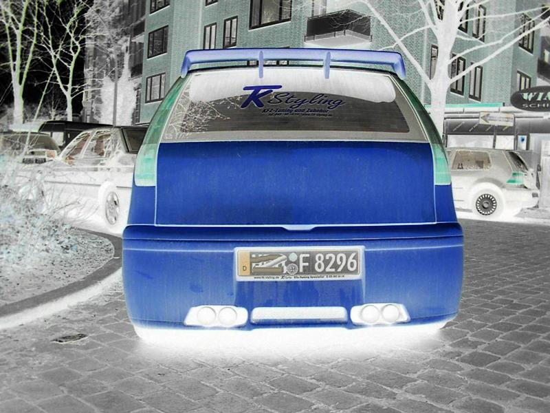 Blauer Flitzer II