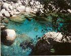 Blauer Fluss in Vogesen