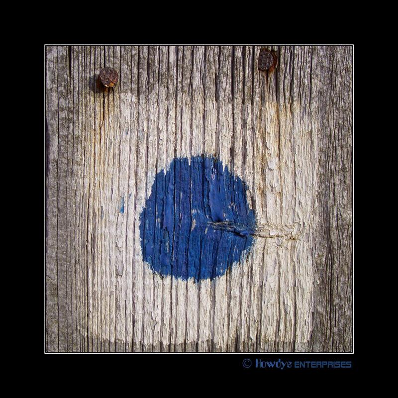 Blauer Punkt Nr.01