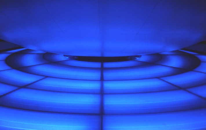 blauer ring
