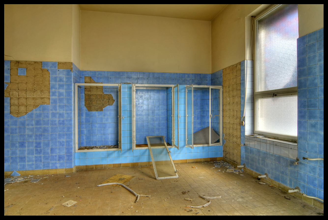 Blauer Salon HDR