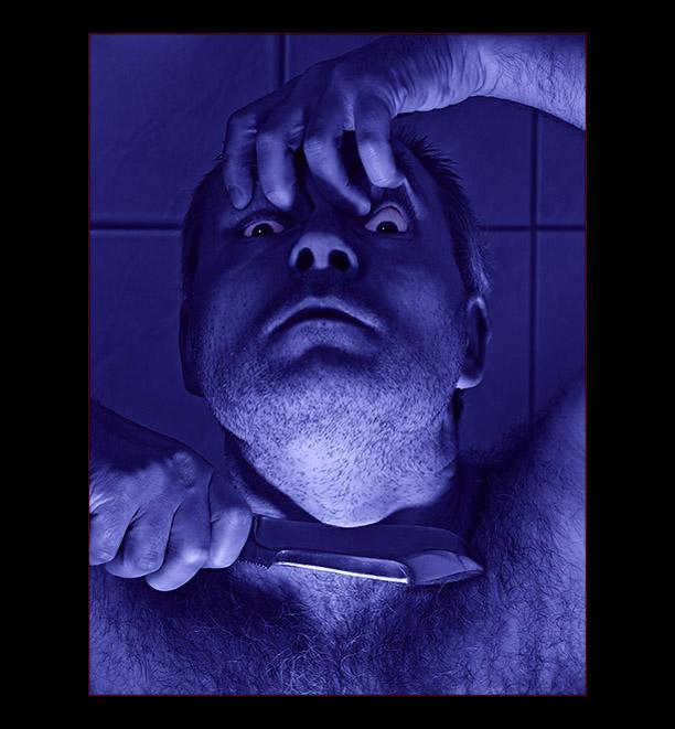 blauer schnitt