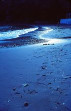 blauer Strand aud La Palma