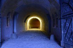 Blauer Tunnel