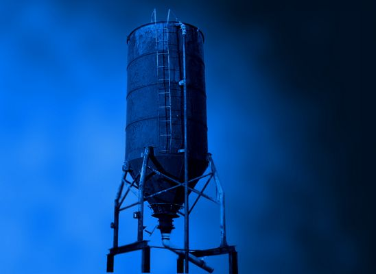 blauer Turm....
