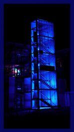Blauer Turm (Spectral) in Freiburg / Haid.