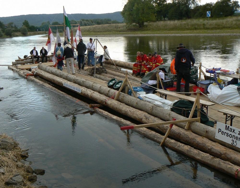 Blaues Band der Weser
