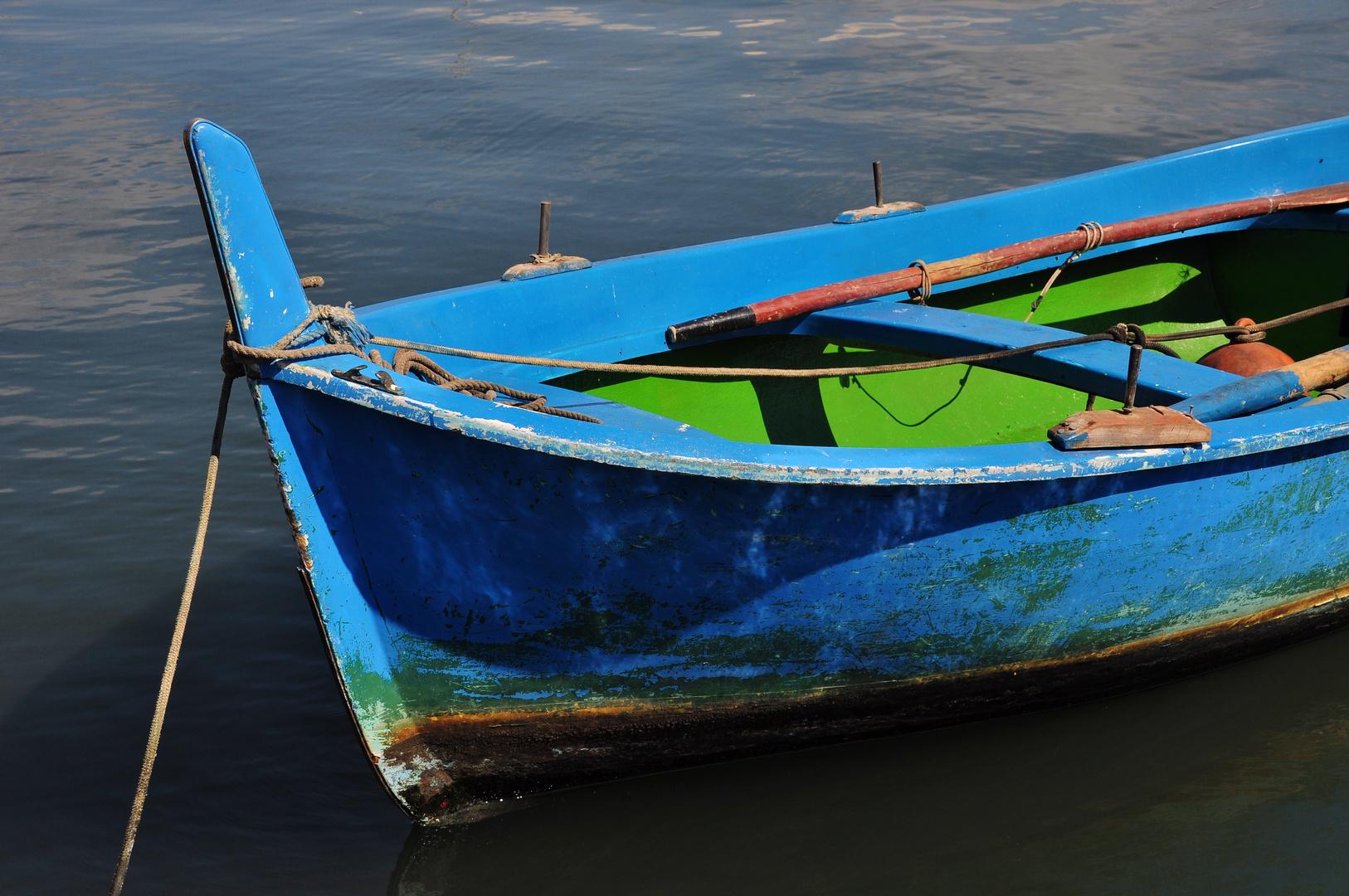 Blaues Fischerboot II