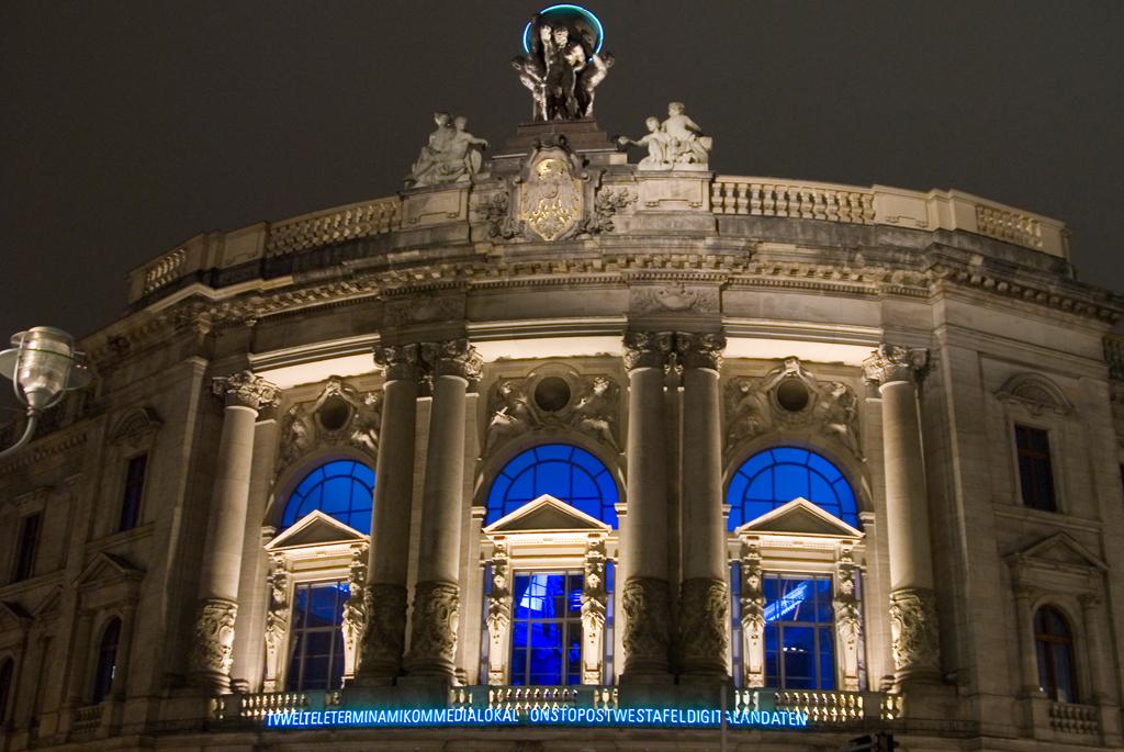 Blaues Gebäude Berlin