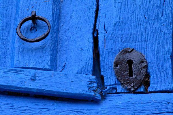 Blaues Geheimnis