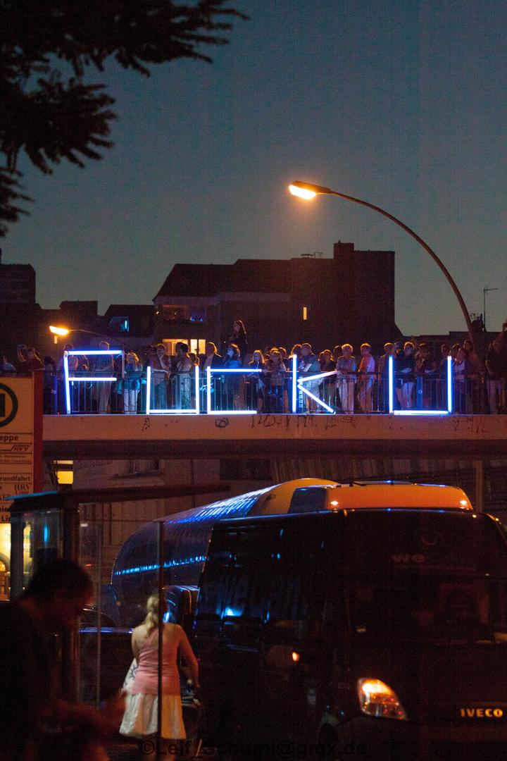 Blaues Hamburg bei den Cruise Days
