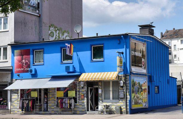 Blaues Haus in Wuppertal