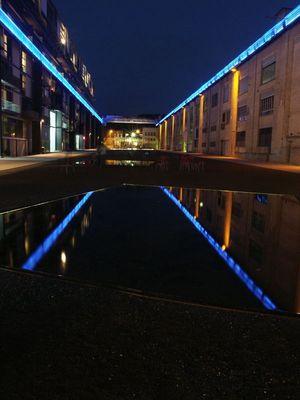 blaues Licht........