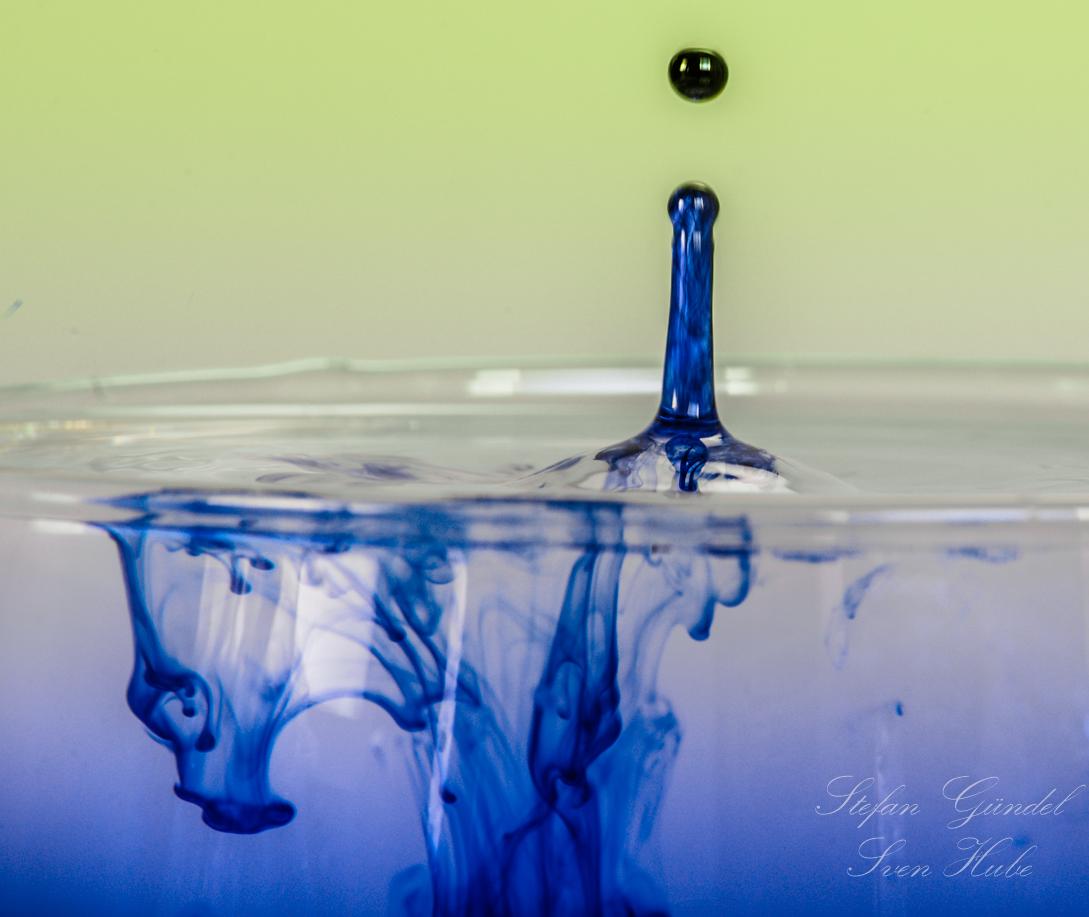 ...blaues Wasser...