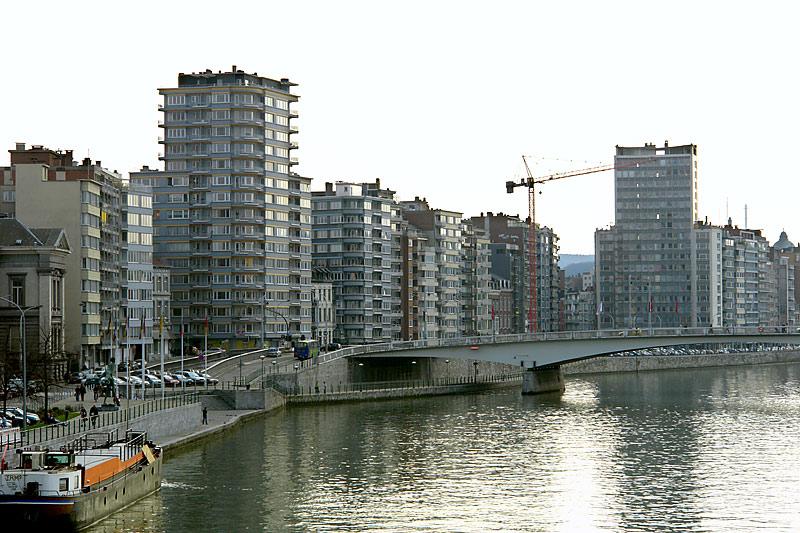 Blaugrau und mau in Lüttich