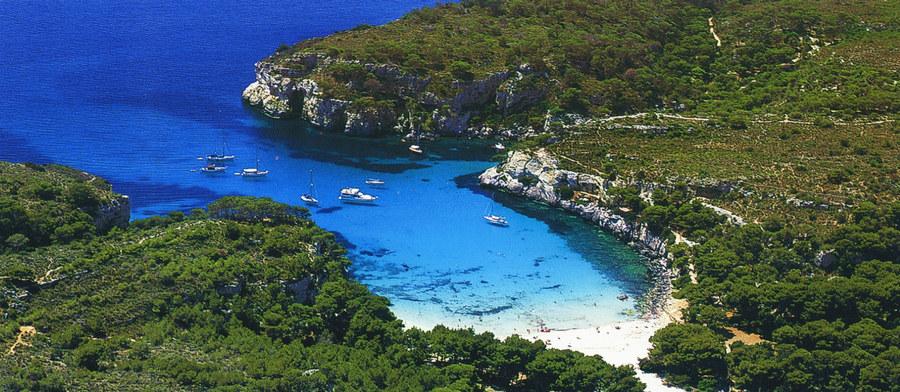 Blaugrüne Bucht