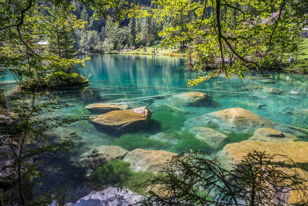 blausee schweiz foto bild europe liechtenstein landschaft bilder auf fotocommunity schwimmen