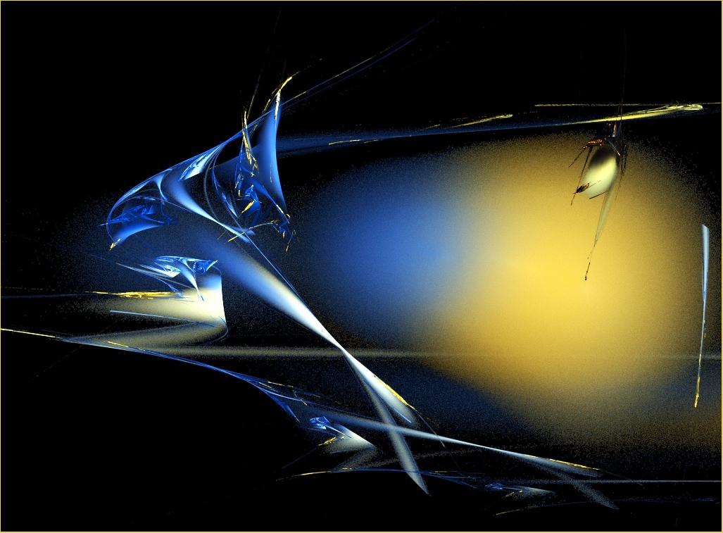 Blauwal . Moderne Kunst