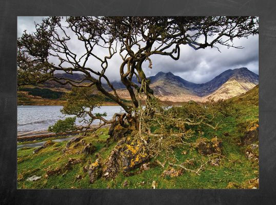 Blaven an Loch Slapin